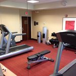 Well equipped fitness room at the Topeka Hyatt Place. Photo by Terry Hunefeld.