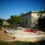 Cowboy Cottage patio
