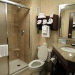 Modern-looking bathroom