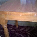 Old, Damaged, Bargain-Basement Furniture