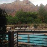View from room at Desert Pearl Inn