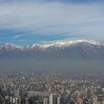 Vista do cerro San Cristobal