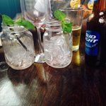 Berry mojito all gone,red wine all gone and bud light