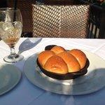 Skillet bread....yum.