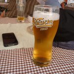 The local beer