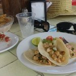 the shrimp tacos