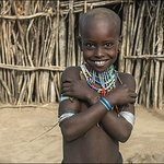 Child from Arbore tribe.
