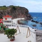 Met zand uit Sint Maarten.