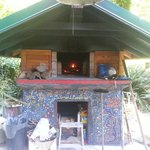 Dal & Jamee's handcrafted wood-fire pizza oven!!!