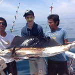 phuket fishing charters ; wahoo 5 sailfish in one day ! Aug14 see review