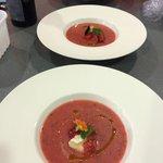 Strawberry & Mint Gazpacho