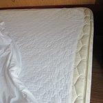 shrunken mattress pad