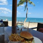 Lunch at the Flying Fish restaurant