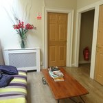 sala de estar em área comum
