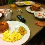 Breakfast ( same Bf everyday)