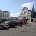The View of the Piazza di Santa Maria Novella