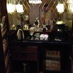 Minibar at premier suite