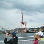 Seattle seen from Argosy boat tour