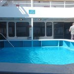 Pool on the boat - think they used it to train new scuba people