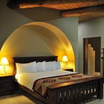King beds in all villas