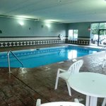 The indoor swimming pool from another angle