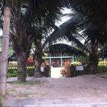 entrada por la playa