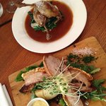 Pork Belly and Duck Confit