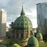 View from the Queen Elizabeth's 13th floor.