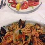 Cod and Seafood Linguine