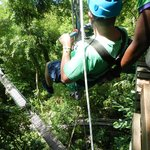 zip line (vertical)