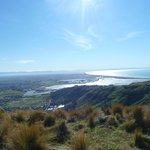 Pegasus Bay from the Port Hills