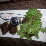 Foie gras poêlée au speculos