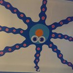 Ceiling octopus