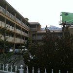 Parking Area / Balconies