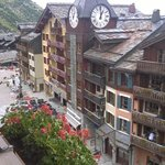 le centre du village