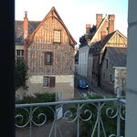view from our room to main gate