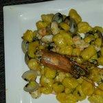 Gnocchi vongole e prawns (consigliatissimo! )