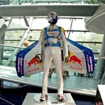Felix Baumgartner original space suit and helmet@ hangar7 salzburg
