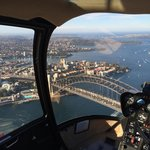 Beautiful view from the chopper