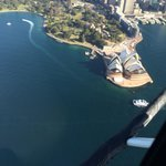 Opera house from the helicopter