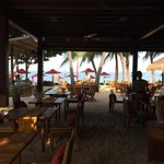 Bistro restaurant @ the beach