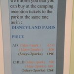 Special pricing for 3days 2 parks