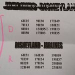 Bus schedule to and fro