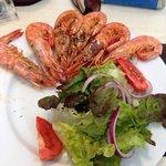Prawn salad, delicious & fresh!