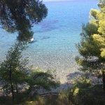 La spiaggia vista da sopra, pochi scalini e il paradiso è lì ad aspettarvi!!!