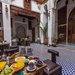 nice moroccan breakfast