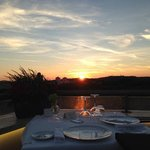 coucher de soleil restaurant toit terrasse Sofitel Villa Borghèse