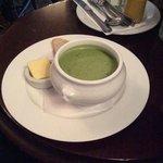 мятный суп - очень вкусный