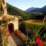 panoramica dalla Terrazza Del Castello