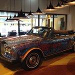 Ancienne Rolls Royce d'Eric Cantona